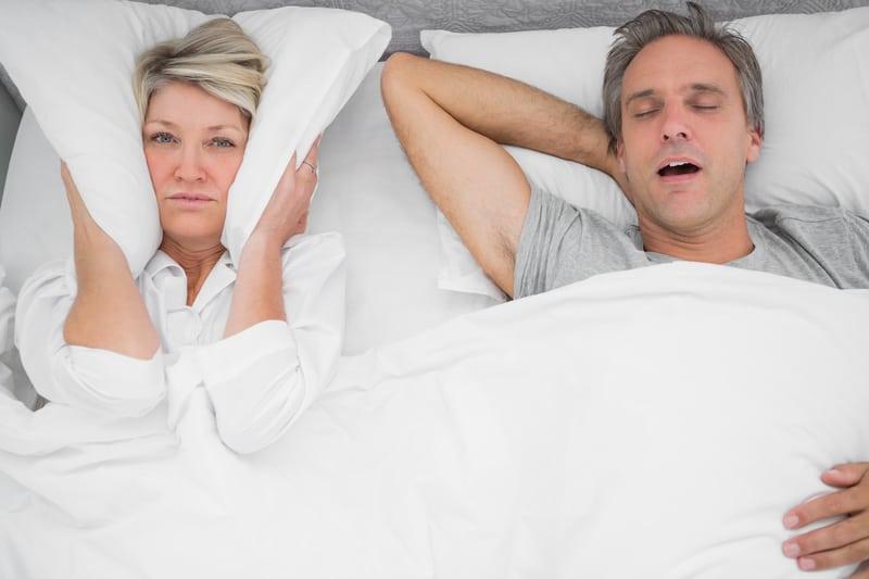 Couple Snoring
