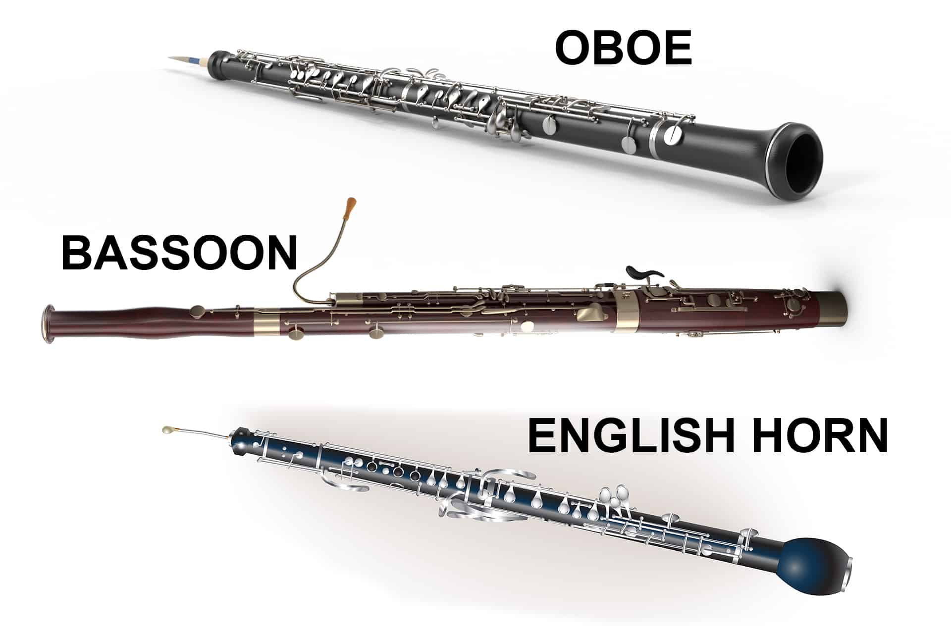 Oboe, Bassoon, English Horn Musical Instrument